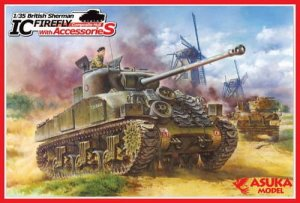 ASUKA (TASCA) 35028 - 1:35 British Sherman IC Firefly Composite Hull with Accessories
