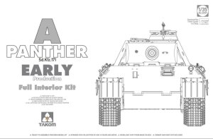 TAKOM 2097 - 1:35 Panther Ausf.A Early production w/ full interior