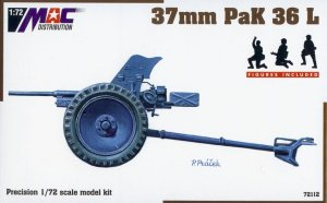 MAC 72112 - 1:72 37 mm PaK 36 L - figures included