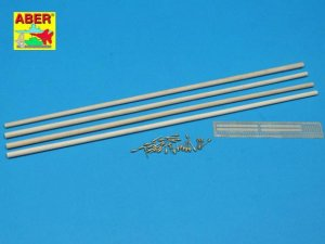 ABER D-11  - 1:35 Telegraph - double pillar set for 4 cross bar with 8 insulators