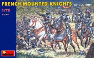 MINIART 72007 - 1:72 French Mounted Knights. XV Century