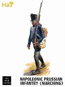 HAT 9317 - 1:32 Napoleonic Prussian Infantry Marching