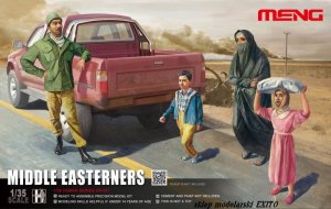 MENG MODEL HS001 - 1:35 Middle Easterners