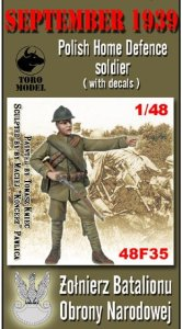 TORO MODEL 48F35 - 1:48 September 1939 Polish Home Defence soldier
