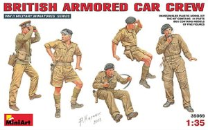 MINIART 35069 - 1:35 British Armored Car Crew