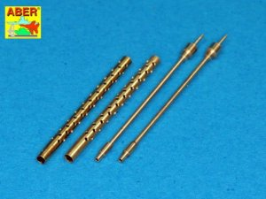 ABER A32013 - 1:32 Set of 2 barrels for 13,2 mm Japanese Type 3 aircraft MG used on Mitsubishi A6M5b/c, A6M7, A6M8
