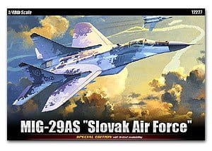 ACADEMY 12227 - 1:48 Mig-29 AS Slovak Air Force
