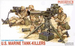 DRAGON 3012 - 1:35 U.S.Marine Tank Killers
