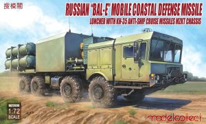 MODELCOLLECT UA72030 - 1:72 Russian Bal-E mobile Coastal Defence