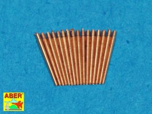 ABER 1:400L-03  - 1:400 Set of 16 pcs 37mm L/83 barrels SK C/30 for German war ships