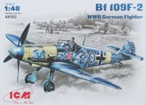 ICM 48102 - 1:48 Bf 109F-2 WWII German Fighter