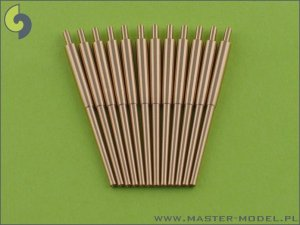 MASTER SM-350-006 - 1:350 IJN 15,5cm/60 (6.1in) 3rd Year Type barrels (12pcs)
