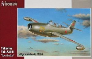 SPECIAL HOBBY 72245 - 1:72 Yakovlev Yak-23 UTI - Two Seater