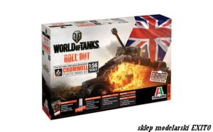 ITALERI 56504 - 1:56 World of Tanks - Cromwell