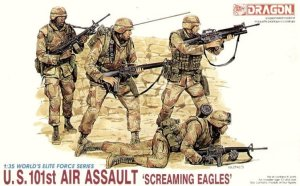 DRAGON 3011 - 1:35 U.S.101st Air Assault Screaming Eagles