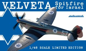 EDUARD 11111 - 1:48 Velveta / Spitfire for Israel ( Mk.IXe ) Limited edition