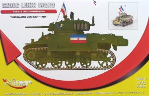 MIRAGE 720001 - 1:72 Yugoslavian M3A3 Light Tank - Limited Edition