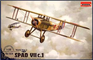 RODEN 604 - 1:32 Spad VII c.1 French