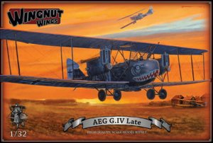 WINGNUT WINGS 32042 - 1:32 AEG G.IV (Late)