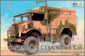 IBG 72015 - 1:72 Chevrolet C.15A No.13 Cab Australian Pattern Wireless / Signals
