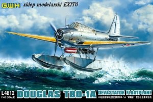 GREAT WALL HOBBY 4812 - 1:48 Douglas TBD-1A Devastator Floatplane