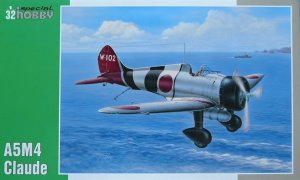 SPECIAL HOBBY 32039 - 1:32 Mitsubishi A5M4 Claude