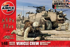 AIRFIX 03702 - 1:48 British Forces Vehicle Crew - Afghanistan