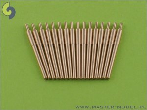 MASTER SM-350-010 - 1:350 IJN 15cm (6in) barrels (16pcs)