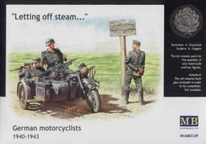 MASTER BOX 3539 - 1:35 German motorcyclists 1940-1943