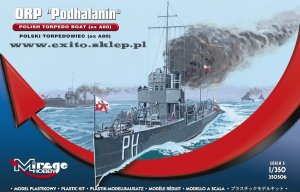 MIRAGE 350506 - 1:350 ORP Podhalanin - Torpedowiec (ex A80)