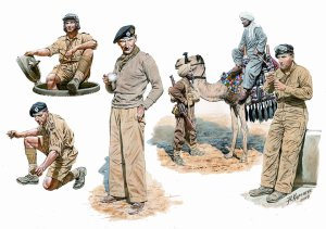 MASTER BOX 3564 - 1:35 Commonwealth AFV Crew