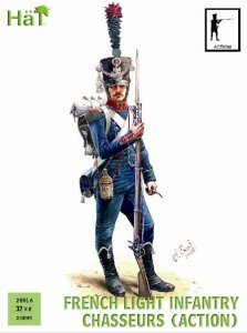 HAT 28016 - 28 mm - French Light Infantry Chasseurs (Action)