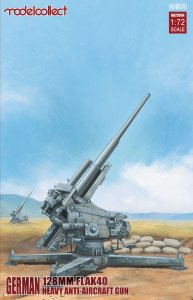 MODELCOLLECT UA72094 - 1:72 German 128mm Flak 40 Heavy Anti-Aircraft Gun