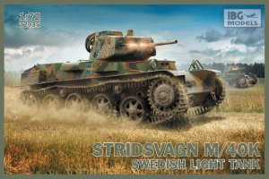 IBG 72035 - 1:72 Stridsvagn M/40K Swedish Light Tank