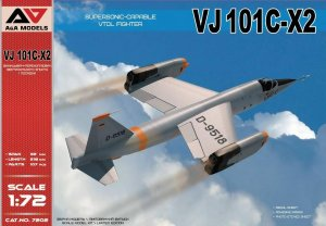 A&A MODELS 7202 - 1:72 VJ101C-X2 Supersonic capable VTOL fighter