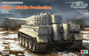 RYE FIELD MODEL 5010 - 1:35 Tiger I Middle Production w/ full interior