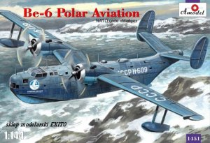 AMODEL 1451 - 1:144 Beriev Be-6 Polar Aviation