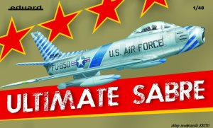 EDUARD 1163 - 1:48 Ultimate Sabre ( F-86F-30 Sabre ) - Limited Edition