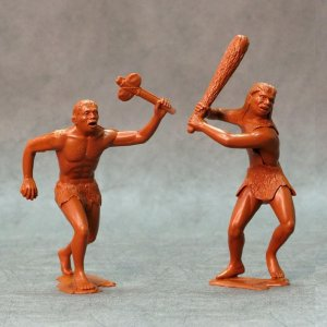 ARK MODELS 80010 - 150 mm - Cavemen set 1