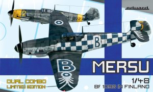EDUARD 11114 - 1:48 Mersu / Bf 109G in Finland - Dual Combo Limited Edition