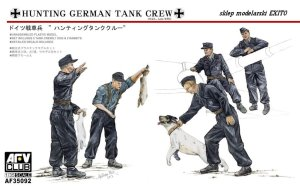 AFV CLUB 35092 - 1:35 Hunting German Tank Crew
