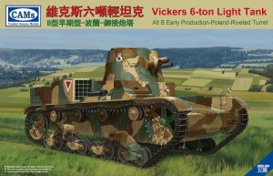 RIICH MODELS ( CAMs ) CV35005 - 1:35 Vickers 6-ton Light Tank Alt B Early Production Poland Riveted Turret