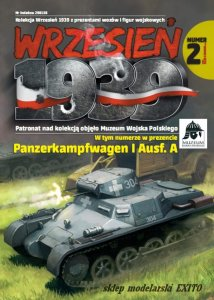 FIRST TO FIGHT 002 -  September 1939 - 1:72 German Pz.Kpfw.I with MG