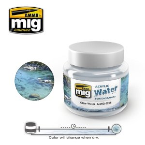 AMMO MIG 2205 - Acrylic Water - Clear Water 250 ml