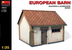 MINIART 35534 - 1:35 European Barn