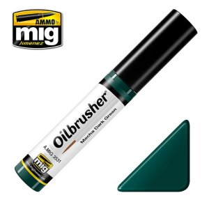 AMMO MIG 3531 - Oilbrusher - Mecha Dark Green