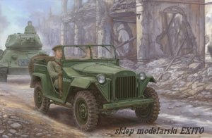 TRUMPETER 02346 - 1:35 Soviet GAZ-67B Military Vehicles