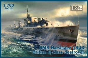 IBG 70010 - 1:700 HMS Harvester 1943 British H-class destroyer