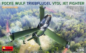 MINIART 40009 - 1:35 Focke Wulf Triebflugel VTOL Jet Fighter