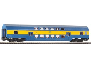 PIKO 97086 H0 - Double decker passenger car Bdhpmn 2 cl. PKP